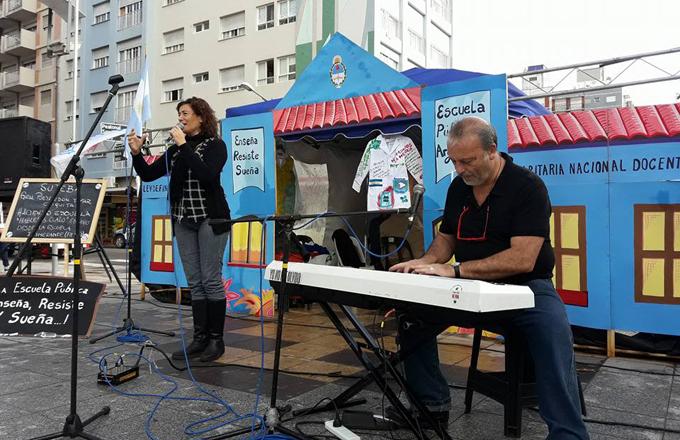 Radio abierta en la Escuela Itinerante en Mar del Plata