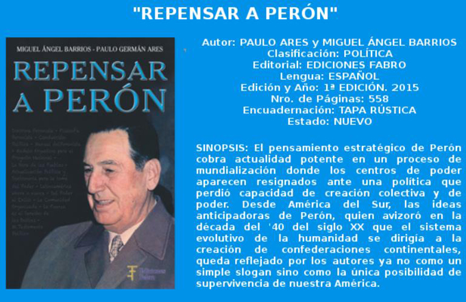 Repensar a Perón